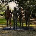 'Riace Warriors, I, II, III, IV' by Elisabeth Frink