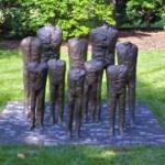 'Group of Ten' by Magdalena Abakanowicz