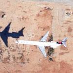 Jet Landing at Hartsfield-Jackson Airport