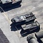 Leopard 2 Tank (Google Maps)