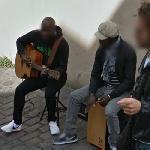 Street musicians (StreetView)