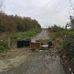 Abandoned Section of Road (StreetView)