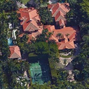 Gloria Estefan's House (Google Maps)
