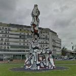 'Chaufferie Avec Cheminée' by Jean Dubuffet (StreetView)