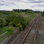 Former Allanfearn Railway Station (StreetView)