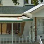 Objects Thrown On An awning (StreetView)