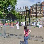 Princess Diana Memorial at Kensington Palace (StreetView)