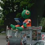 Alien In Russia (StreetView)