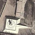 Military base with radar (Google Maps)