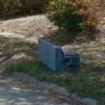 Sofa For Trash Pick-up (StreetView)