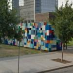 'Synchronicity of Color - Blue' by Margot Sawyer (StreetView)
