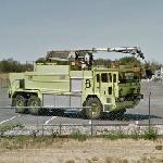 Oshkosh Airport Fire Truck (StreetView)