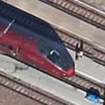 Automotrice à grande vitesse, AGV (Google Maps)