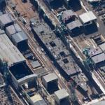 Izumo-class helicopter destroyer (under construction) (Google Maps)