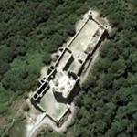Saissac castle (Google Maps)