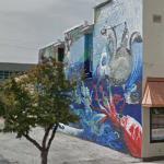 Sea life mural (StreetView)