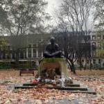 'Mahatma Gandhi' by Fredda Brilliant (StreetView)