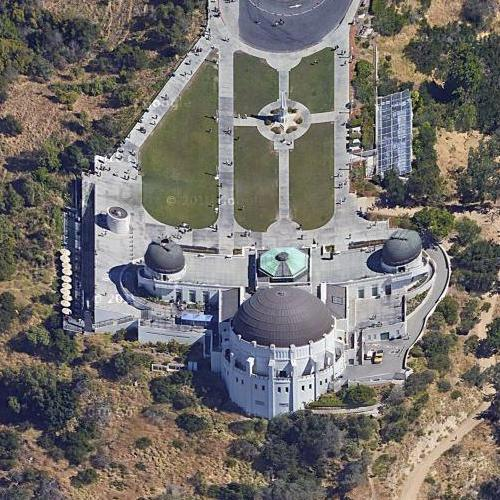 Griffith Observatory (Google Maps)