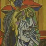 'The Weeping Woman' by Pablo Picasso (StreetView)
