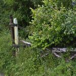 Disused Level Crossing Gate
