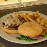 Hamburger and Chips (StreetView)