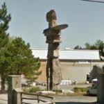 World's tallest Inukshuk (StreetView)