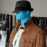 Blue Mannequin (StreetView)