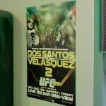 Dos Santos vs Velasquez 2 UFC Fight Ad