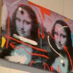 Defaced Mona Lisas (StreetView)
