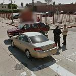 Car Accident in Los Angeles (StreetView)