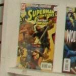 Superman comic book (StreetView)