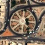Traffic Circle in Tarhuna, Libya