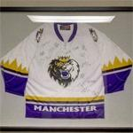 Autographed Manchester Monarchs jersey (StreetView)