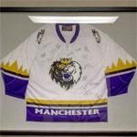 Autographed Manchester Monarchs jersey