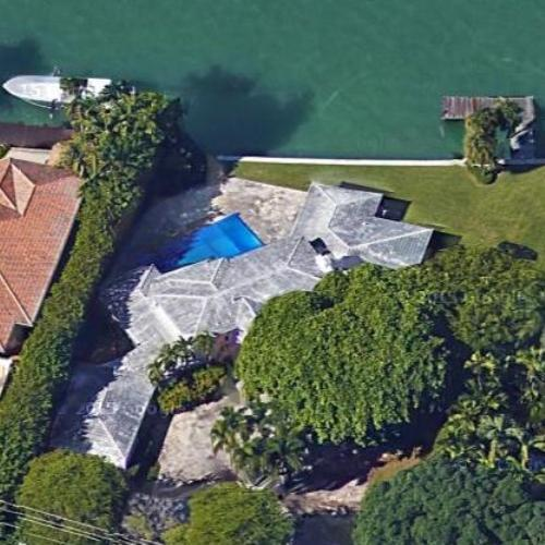 pablo escobar's house (former) in miami beach, fl (google