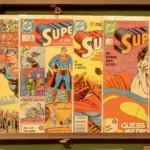 Superman comics (StreetView)