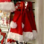 Santa hats for sale (StreetView)