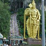 Entrance to Batu Caves