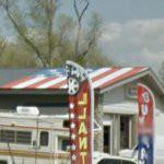 "Scott LoBaido ""Flags Across America"" roof (StreetView)"