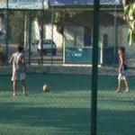 Playing football (StreetView)