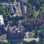 Abandoned Hudson River State Hospital (Google Maps)