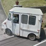AM General FJ-8A postal truck (StreetView)
