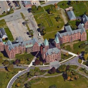 Abandoned Buffalo State Asylum (Google Maps)