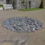 'Kilkenny Limestone Circle' by Richard Long (StreetView)