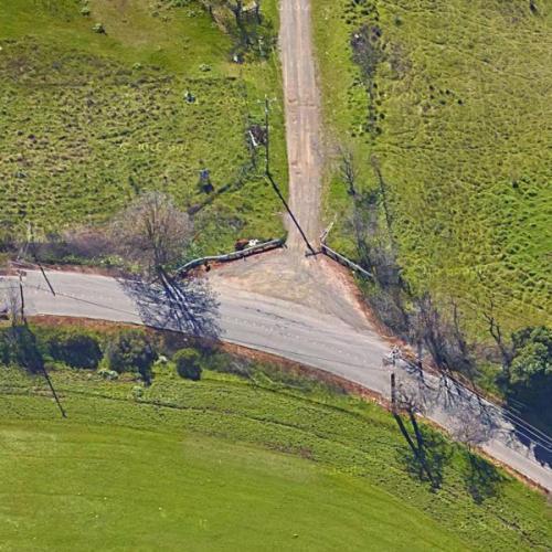 Zodiac Killer - Lake Herman Road attack (Google Maps)