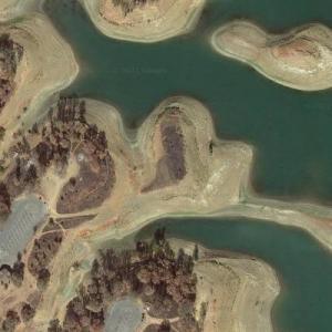 Zodiac Killer - Lake Berryessa attack (Google Maps)