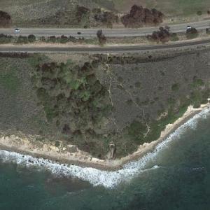 Possible Zodiac Killer - Santa Barbara attack (Google Maps)
