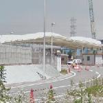 Gate of Fukushima-1 nuclear plant
