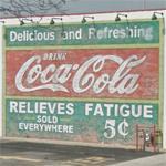 Vintage Coca-Cola ad (StreetView)