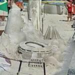 Stadium sand castle (StreetView)